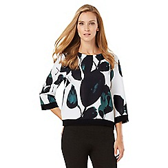 Phase Eight - Lisa Leaf Print Blouse