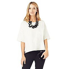 Phase Eight - Ana Necklace Trim Top