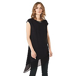 Phase Eight - Molly Asymmetric Fringe Necklace Top
