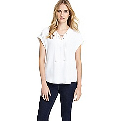 Phase Eight - Elicia Lace Up Blouse