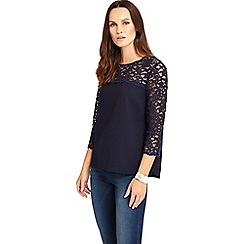 Phase Eight - Lowri Long Sleeve Lace Blouse
