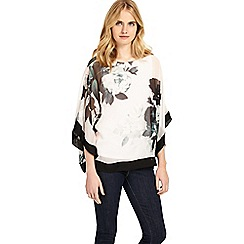 Phase Eight - Multi-coloured anabelle print silk blouse