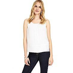 Phase Eight - White mai silk blouse