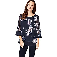Phase Eight - Multi-coloured shila printed blouse