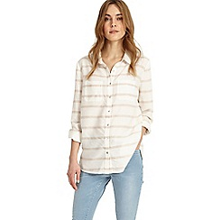 Phase Eight - White Elsbeth Stripe Shirt