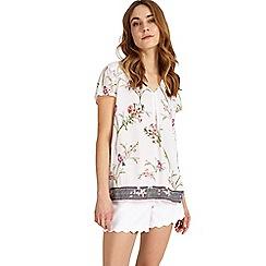 Phase Eight - Hummingbird print blouse