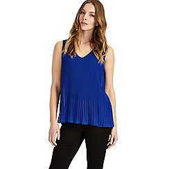 Phase Eight - Ella pleated sleeveless blouse