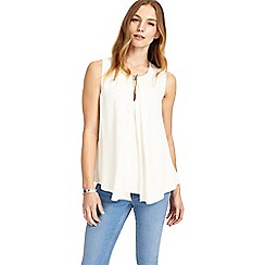 Phase Eight - Ivory nelly sleeveless top
