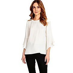 Phase Eight - Heather flute sleeves top