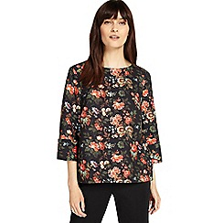 Phase Eight - Multi-coloured rae rose print blouse