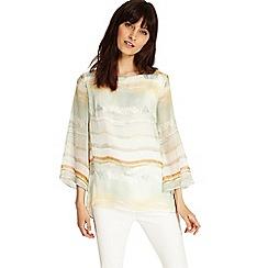 Phase Eight - Multi-coloured eliza stripe silk blouse