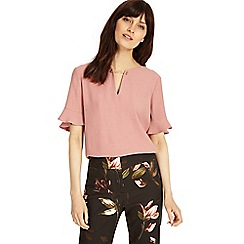 Phase Eight - Romantic Pink emma chain neck blouse