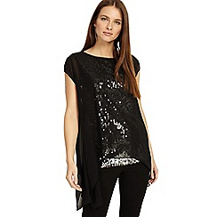 Phase Eight - Delilah double layer sequin top