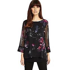 Phase Eight - Multi-coloured Shila cosmo print blouse