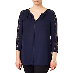 Studio 8 - Sizes 16-24 Cheryl lace blouse