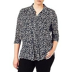 Studio 8 - Sizes 16-24 Elodie spot blouse