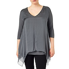 Studio 8 - Sizes 16-24 Josie silk tunic