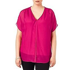 Studio 8 - Sizes 16-24 Tessa v-neck blouse