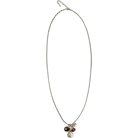 Phase Eight - Multi-Coloured Crystal Glass Pendant Necklace