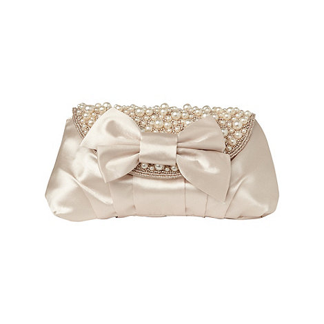 Phase Eight - Ivory Hilda Pearl Clutch Bag