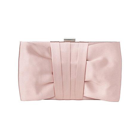 Phase Eight Dusty Pink Yasmin Satin Clutch Bag | Debenhams