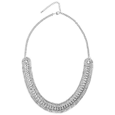 Phase Eight - Silver U Chain Necklace