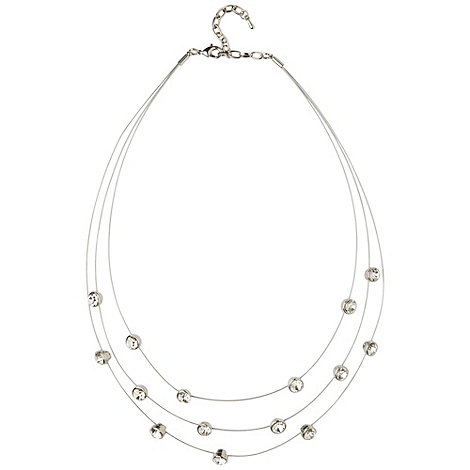 Phase Eight - Wire Diamond Necklace