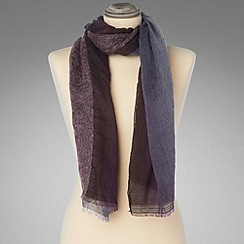 Phase Eight - Purple mixed ombre scarf
