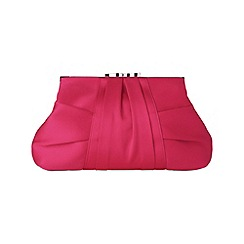 Phase Eight - Rouge adina satin clutch bag