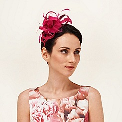 Phase Eight - Rouge rosie fascinator
