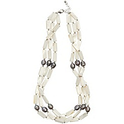 Phase Eight - Cream andrea bead necklace