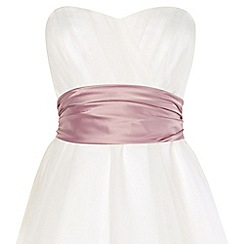 Phase Eight - Dusty Pink emilia satin sash