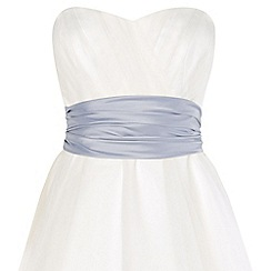 Phase Eight - Pale Blue emilia satin sash
