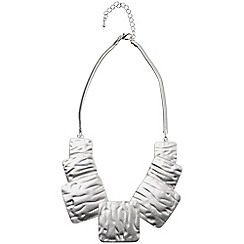 Phase Eight - Silver silver square necklace