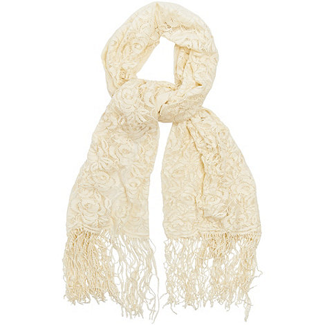 Phase Eight - Cream lou lou lace scarf