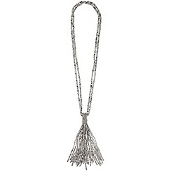 Phase Eight - Pewter tilly tassle necklace