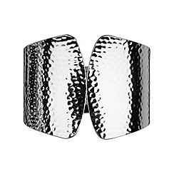 Phase Eight - Silver diane hinged cuff bracelet