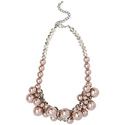 Phase Eight - Mink Toria Pearl Crystal Necklace