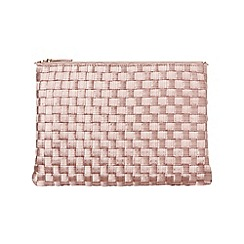 Phase Eight - Champagne Annabel Weave Clutch