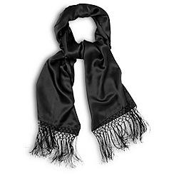 Phase Eight - Black Riva Silk Wrap