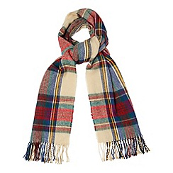 Phase Eight - Multi-coloured tartan scarf