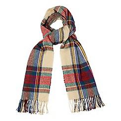 Phase Eight - Multi-coloured tartan scarf