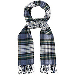 Phase Eight - Navy tartan scarf