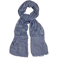 Phase Eight - Denim eva lace scarf