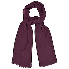 Phase Eight - Grape layla beaded scarf