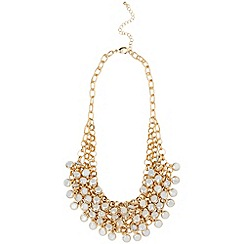 Phase Eight - Gold Beatrice Crystal Necklace
