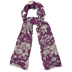 Phase Eight - Amethyst jasmin scarf