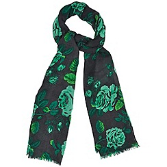 Phase Eight - Pine chrissy scarf