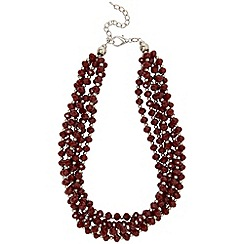 Phase Eight - Ruby lily sparkle necklace