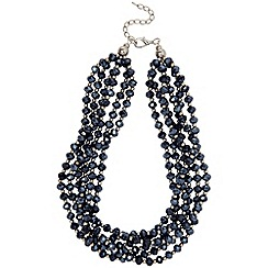 Phase Eight - Midnight lily sparkle necklace
